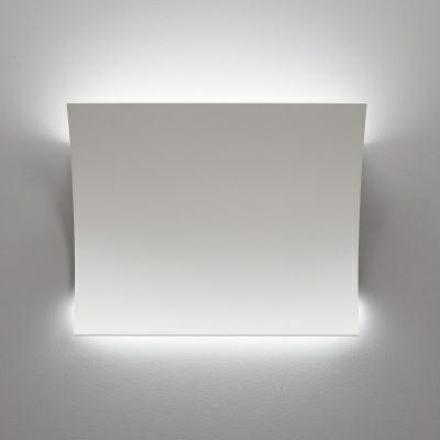 Lampada da parete a led ion colore bianco   sforzin t.44 10 ...