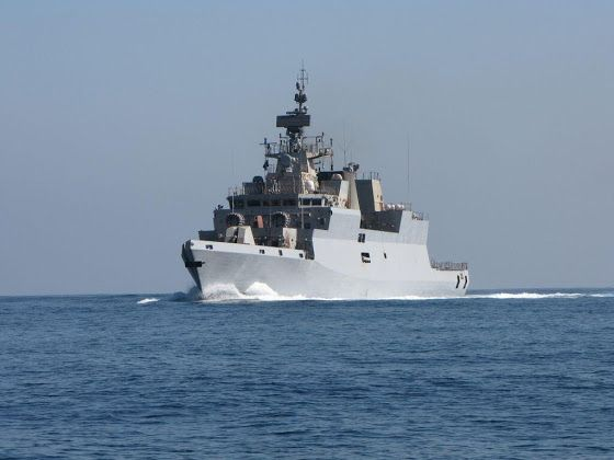 Indian Navy Gets First Indigenous Anti Submarine Warfare Corvette Indian Navy Warship Navy Ships