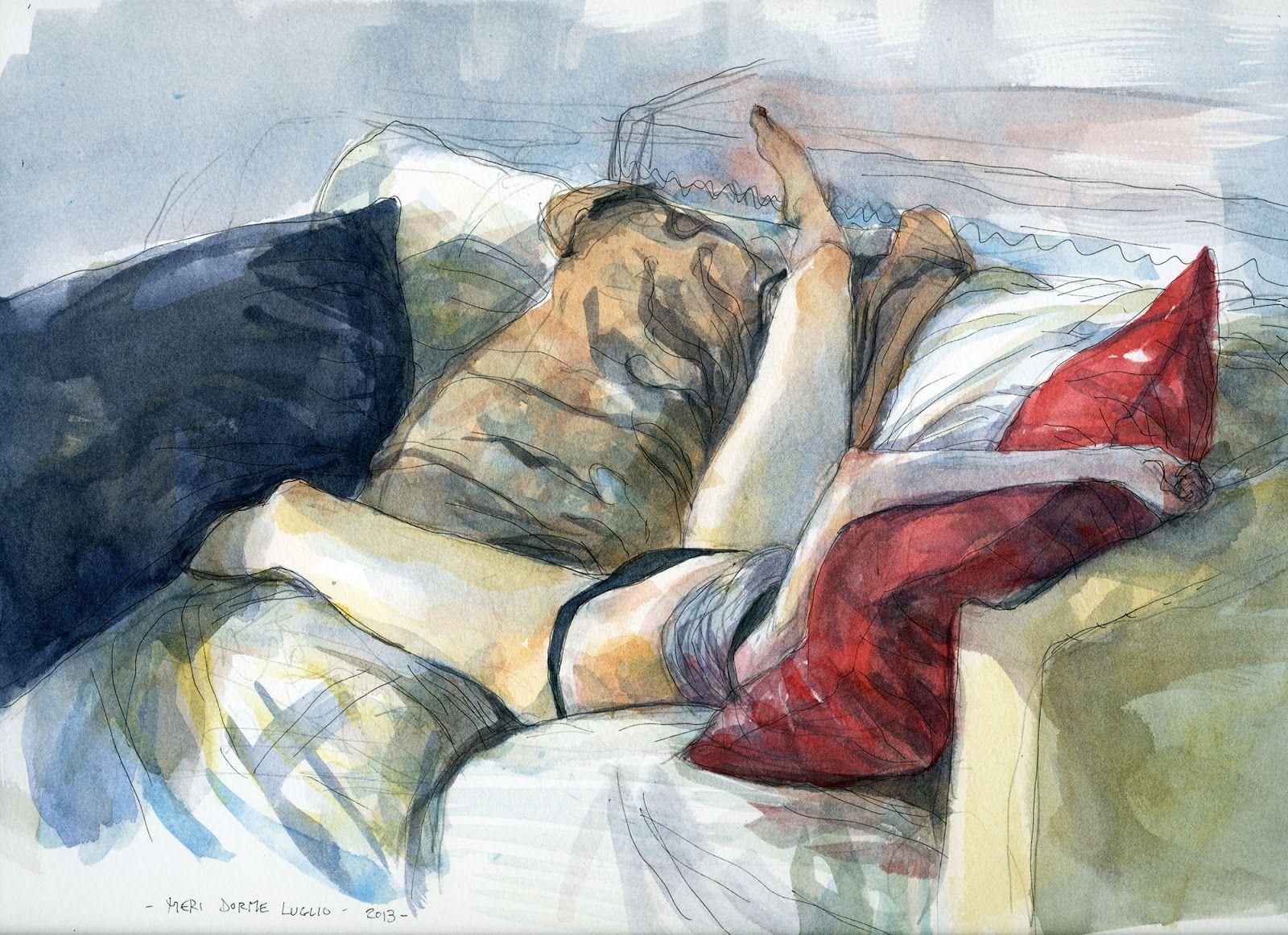 Tavolo gipi ~ Storie disegni e appunti del disegnatore gipi: meri dorme luglio