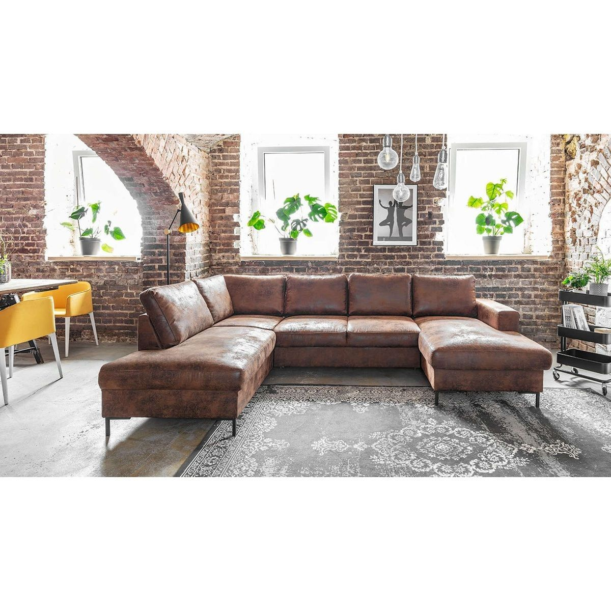 Canape D Angle Panoramique Lilly Taille 8 Places Canape