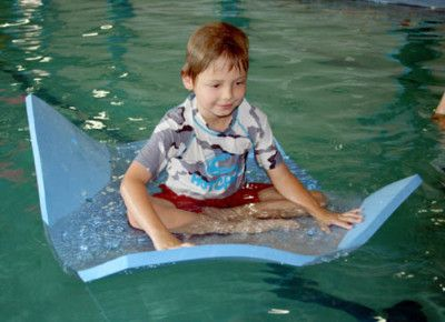floating mat; learn to swim
