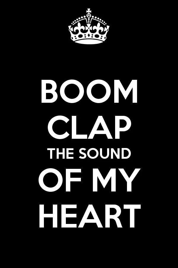 Boom Clap #Lyrics | Boom clap, Lyrics, The fault in our stars