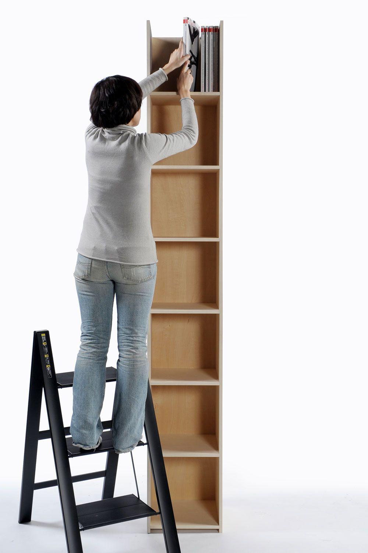 床から天井や梁下まで目一杯に有効活用できるシンプルで丈夫なタワー型