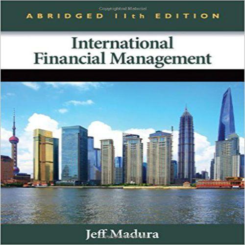 Intermediate financial management 11th pdf