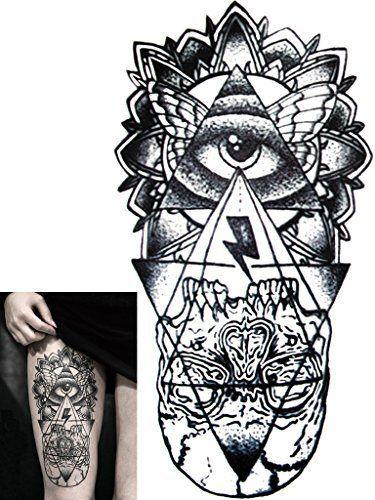 Novoskins Tattoo Artist Temporary Tattoo Hand Painted Waterproof Transfer Purgatory Design 21 5cm X 11 5cm Tattoo Artists Hand Tattoos Tattoos