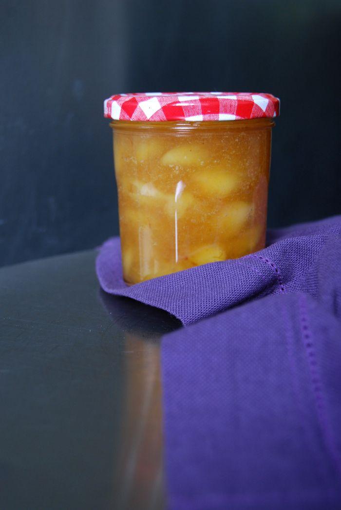 White Vineyard Peach Jam ° eat in my kitchen