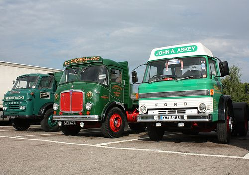 Great British Trucks Commer Maxiload Aec Mercury Ford D Series