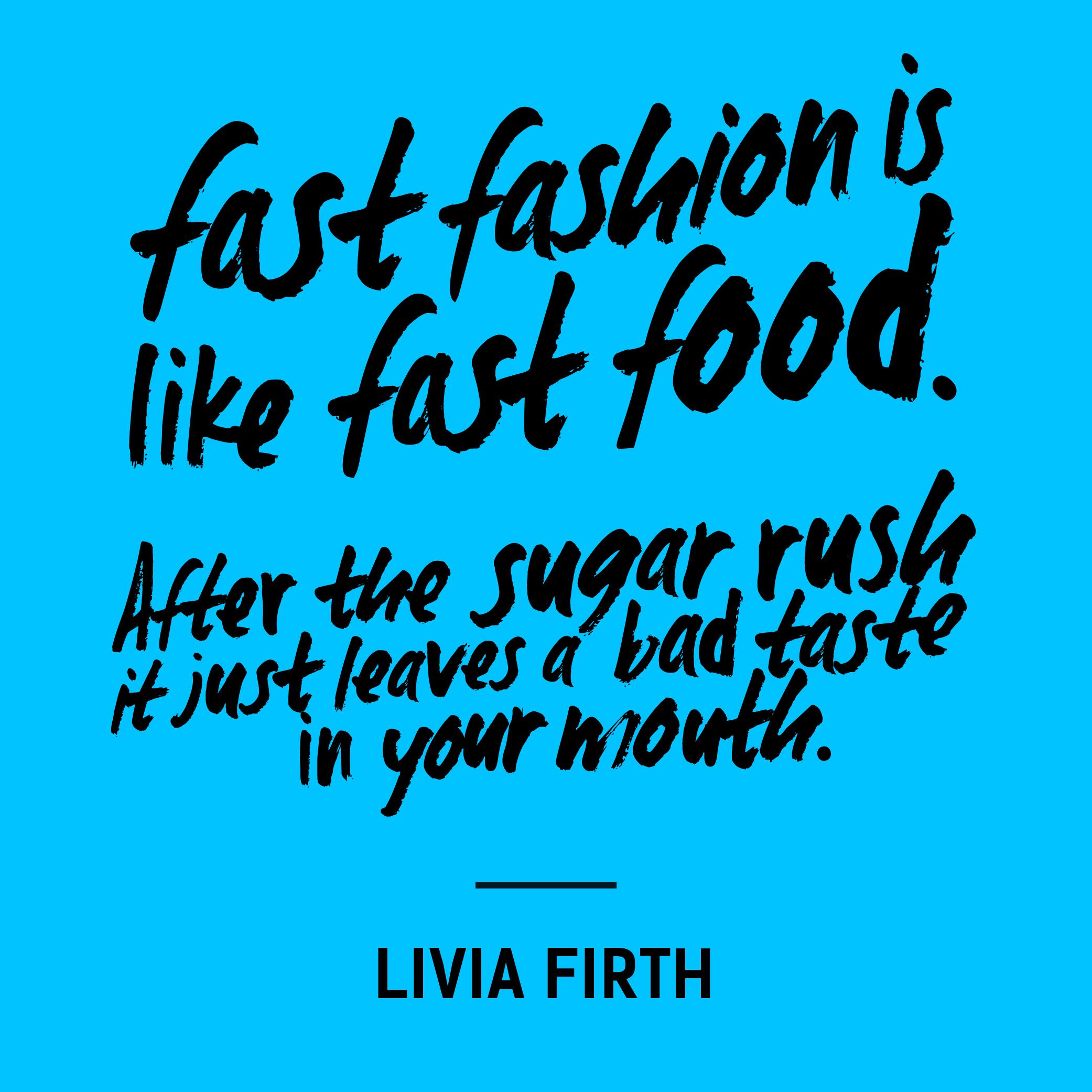 Fall Fashion Quotes: Fashionrevolution.org #FashRev