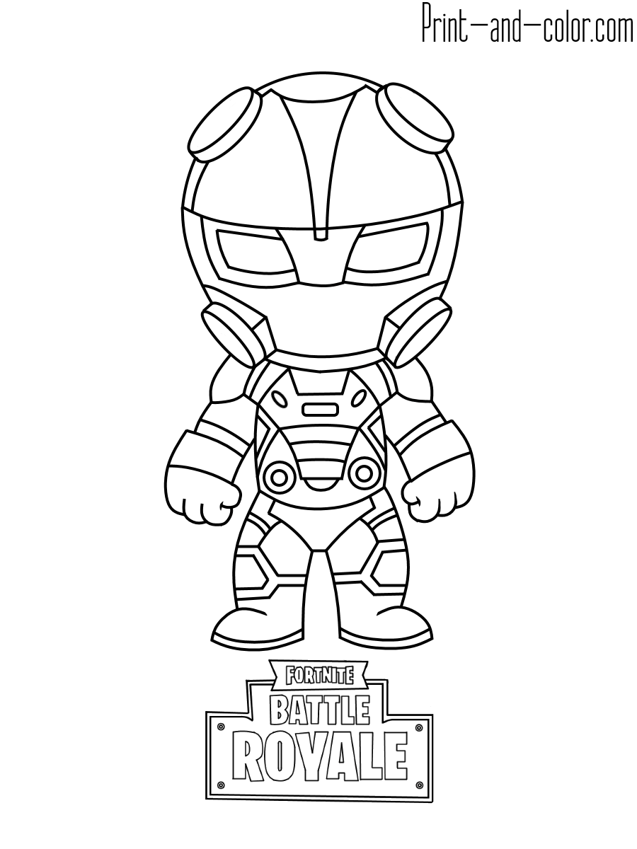 Fortnite coloring pages Dibujos