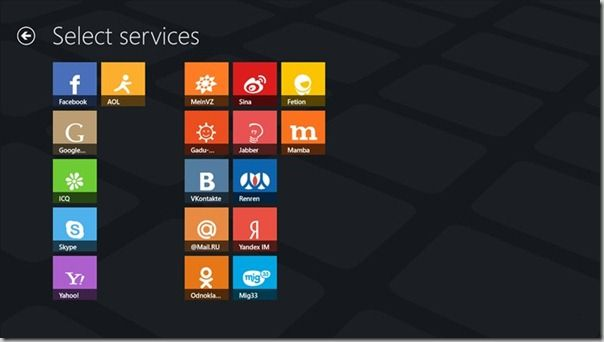 Use Skype, Facebook Chat, Gtalk, Yahoo And Other Services