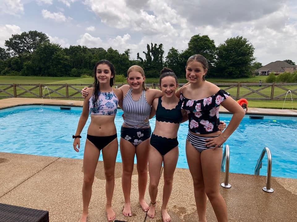Pool Day Teenage Girl Outfits Little Girl Fashion School Girl Dress