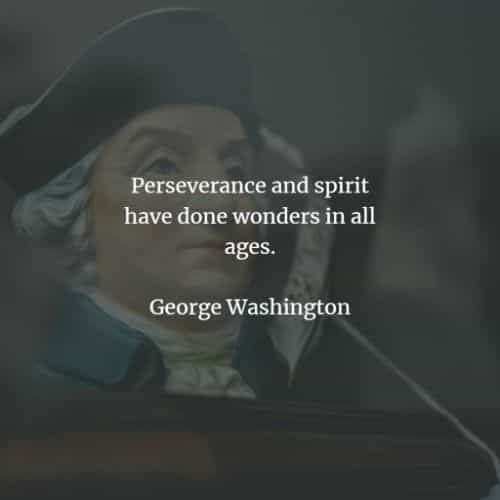 50 Famous quotes and sayings by George Washington