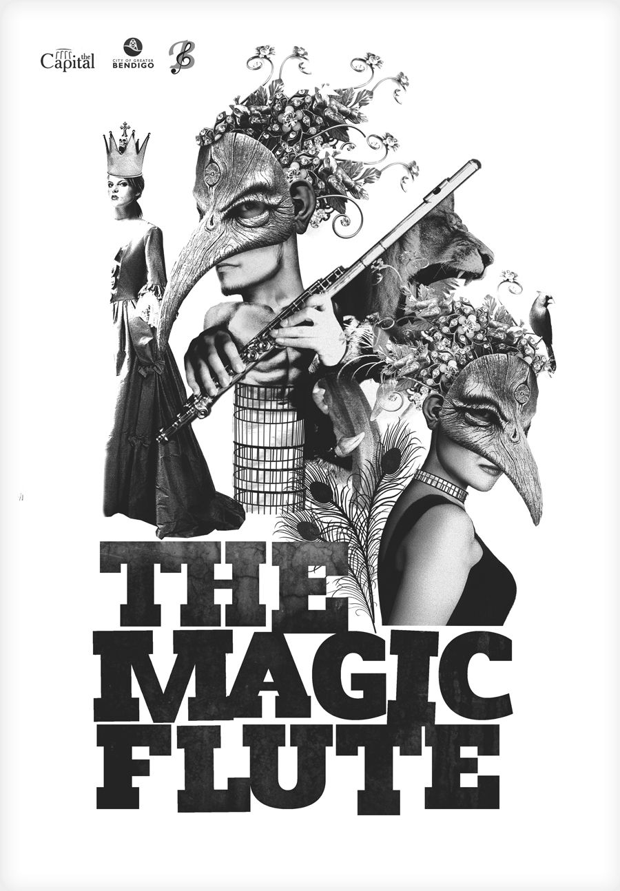 Magic Flute Opera Poster Tabatha Yeatts The Opposite Of Indifference Opera
