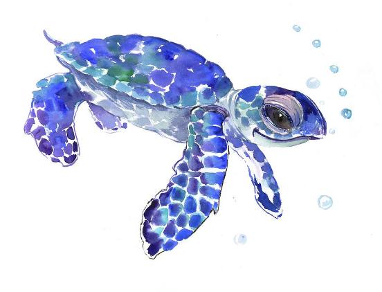 Sea Turtle By Suren Nersisyan Turtle Painting Sea Turtle Watercolor Tattoo Turtle Art