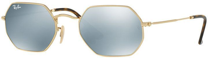 1f6d7c289f Ray-Ban Octagonal Flat Lens Sunglasses