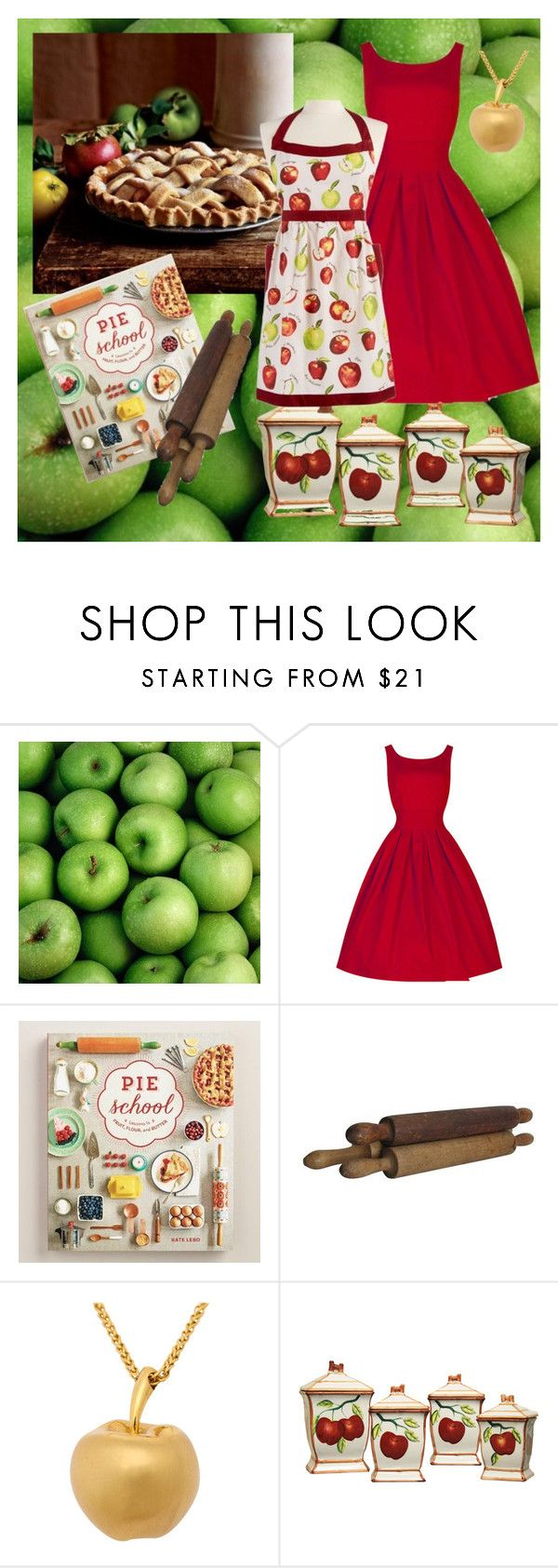 """""""Easy as Pie"""" by abbyandelle on Polyvore featuring Cost Plus World Market, Martha Stewart and AbbyAndElle"""