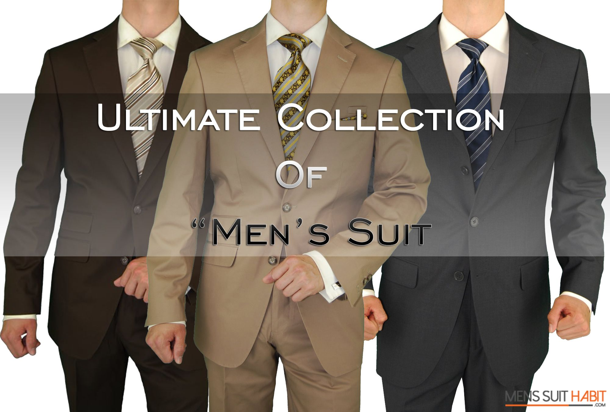 Fuomo Business Classic Mens Suit 2 Button Black