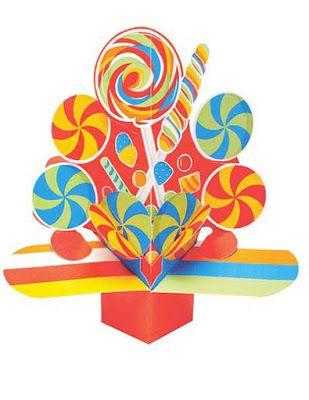 Alzatina tema caramelle (con immagini) | Tema caramelle ...