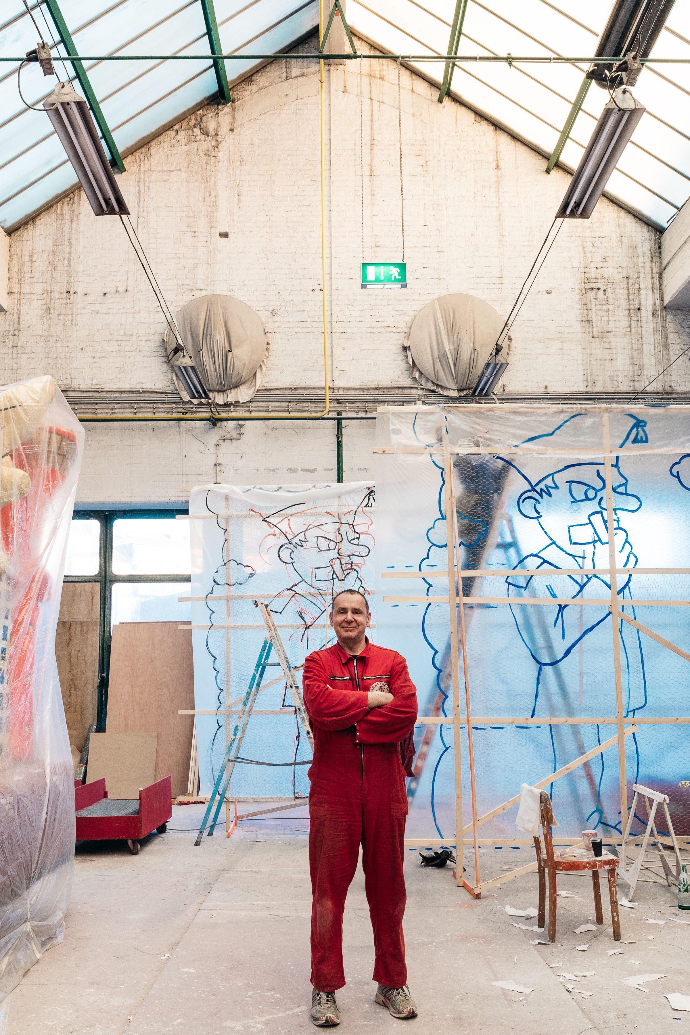 Künstler In Essen jacques tilly deutschlands bekanntester karnevalwagenbau künstler
