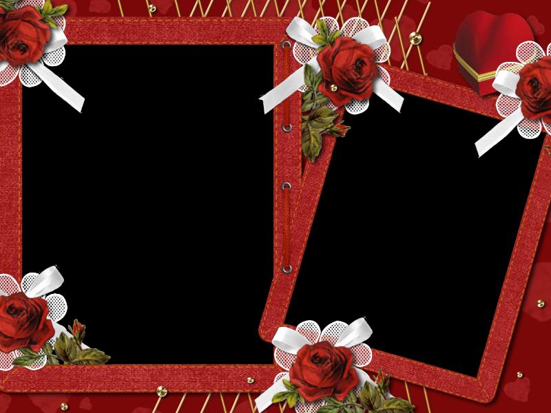 marcos romanticos (91)   PLANTILLAS FLORES ROSAS   Pinterest ...