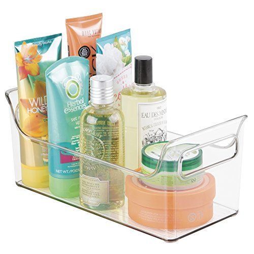 mDesign Portable Bathroom Vanity Under Cabinet Health and Beauty ...