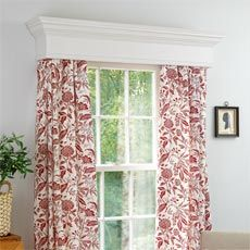 Window Cornice And Treatment From How To Build A Step By