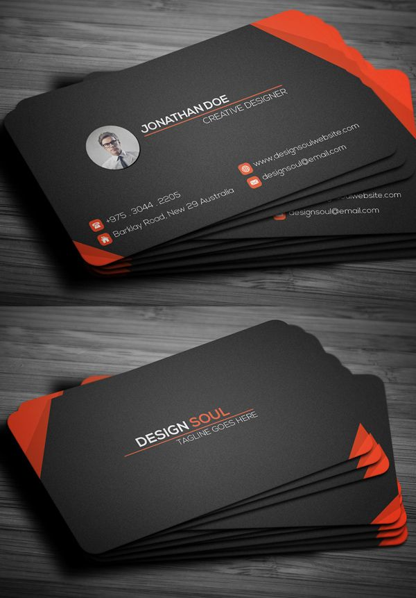 Corporate Business Card | MISCELLANY | Pinterest | Corporate ...