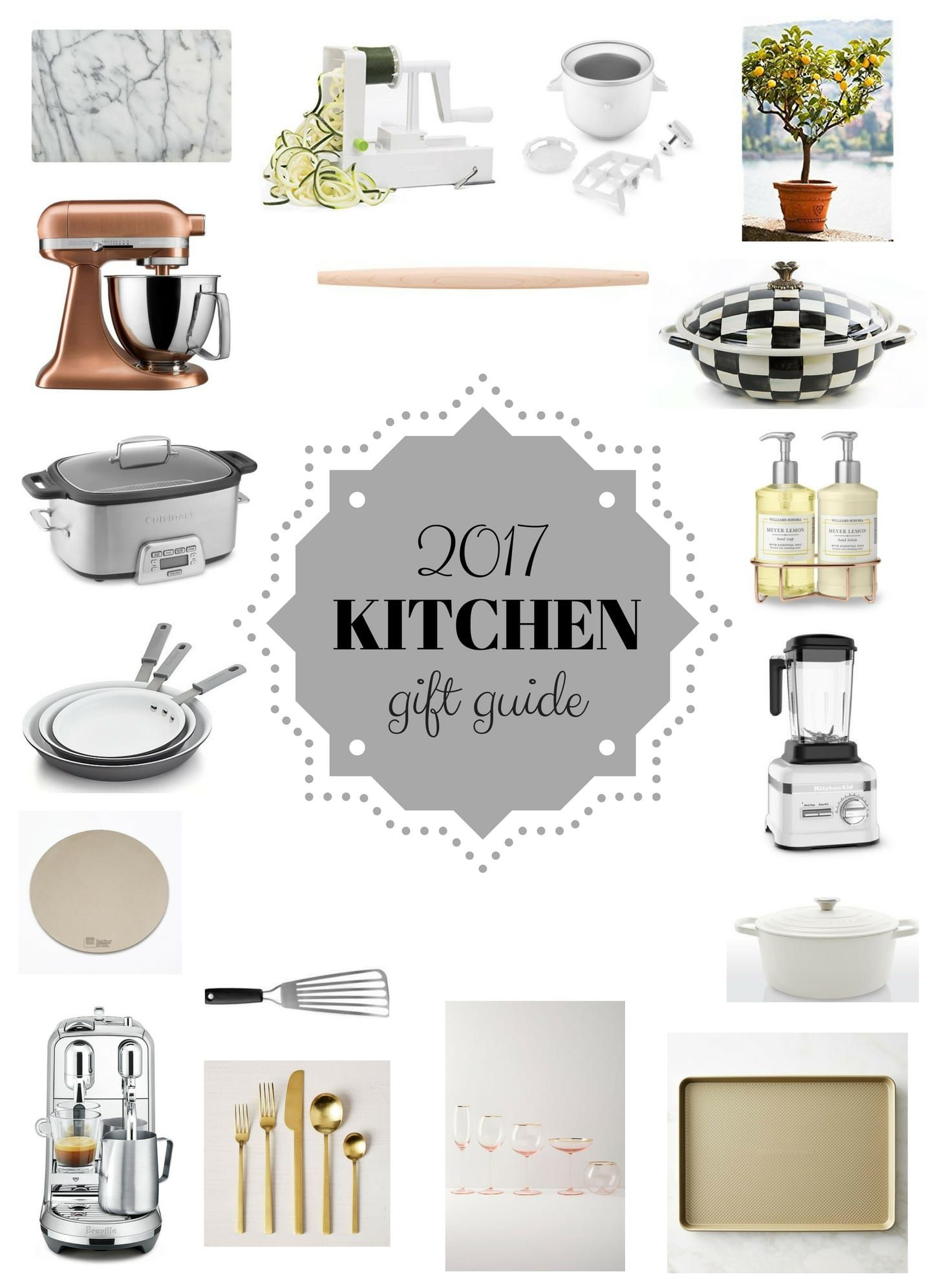 Kitchen Gift Guide 2017 Holiday Kitchen Gift Guide Kitchen Gift Kitchen Christmas Gifts Holiday Kitchen