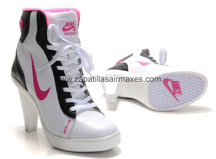 Tacones Nike | Tacones nike, Zapatillas de tacón, Zapatos de