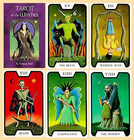Das Hexen Tarot ~ this deck was used in a James Bond movie