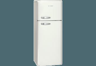 Retro Kühlschrank Groß : Bomann dtr retro creme kühlgefrierkombination a kwh