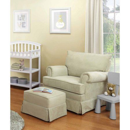 Thomasville Kids Grand Royale Upholstered Swivel Glider And