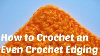 Learn How To Crochet an Even Crochet Edging on Your Project via @freecrochettuts