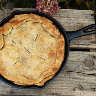 Trisha Yearwood's Skillet Apple Pie #applepie