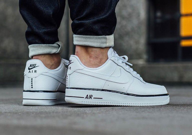 nike air force 1 low white with black foxing stripe nz