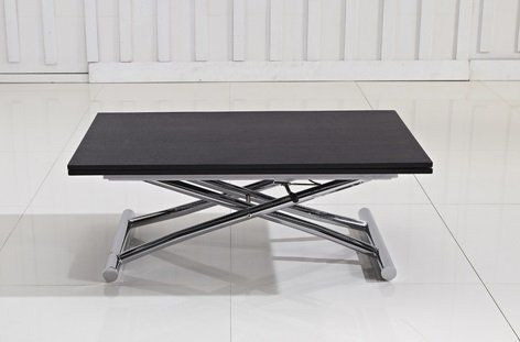 Table Basse Relevable Extensible High And Low Wenge Petite Taille Compacte Table Basse Relevable Extensible Table Basse Relevable Table Basse