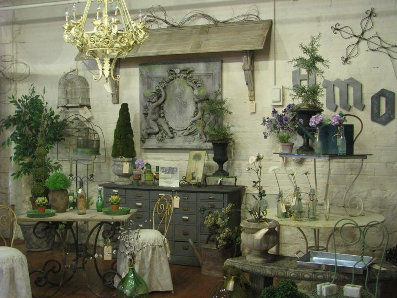 French Garden Antiques Interior Design