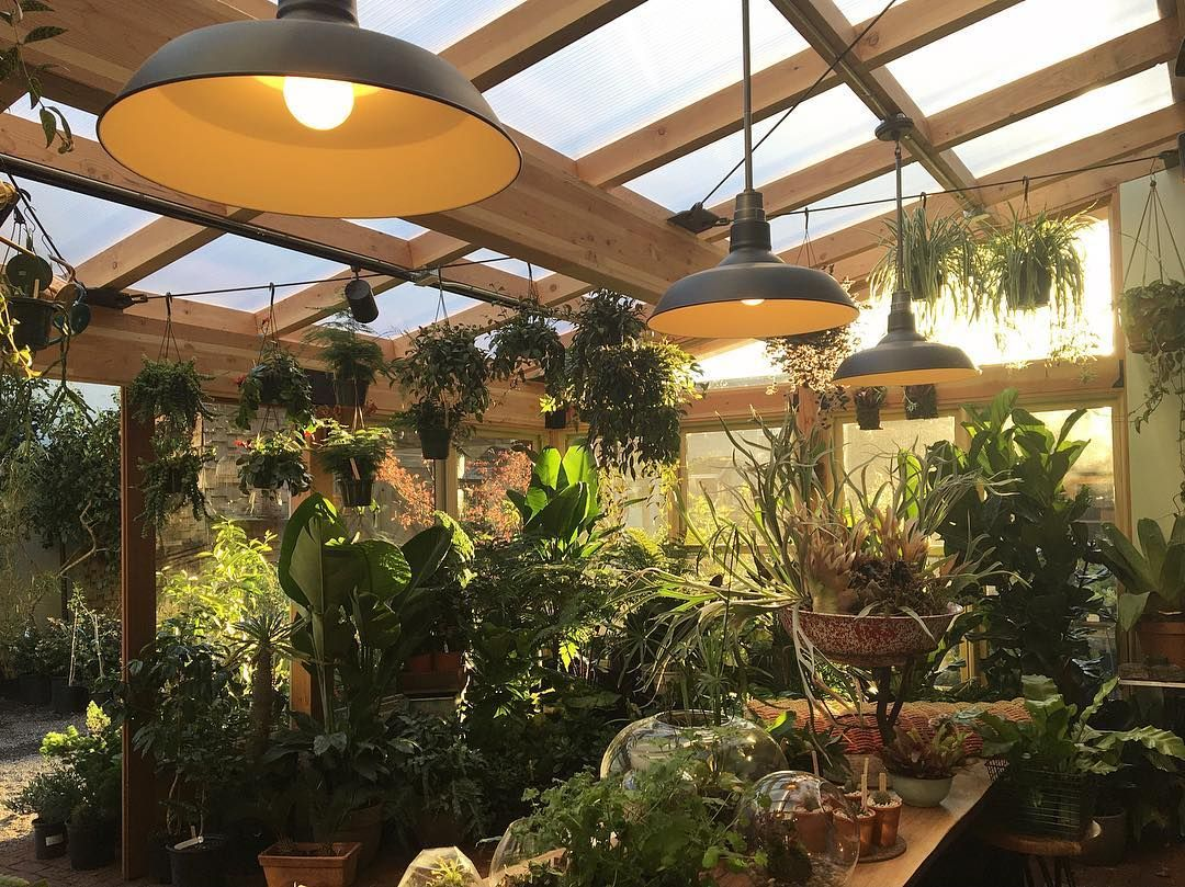 A greenhouse, a solarium, a conservatory; no matter what you call it ...