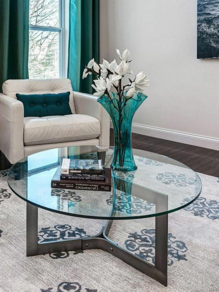 la table basse ronde est un l ment incontournable de l 39 int rieur design et. Black Bedroom Furniture Sets. Home Design Ideas