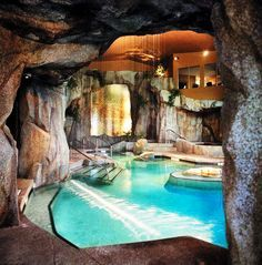 interesting cool pools with caves gallery decorating ideas - Cool Pools With Caves