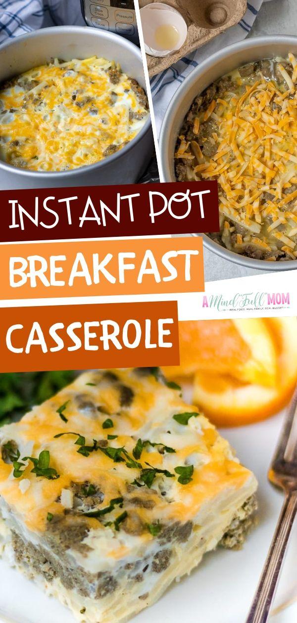 Instant Pot Breakfast Casserole images