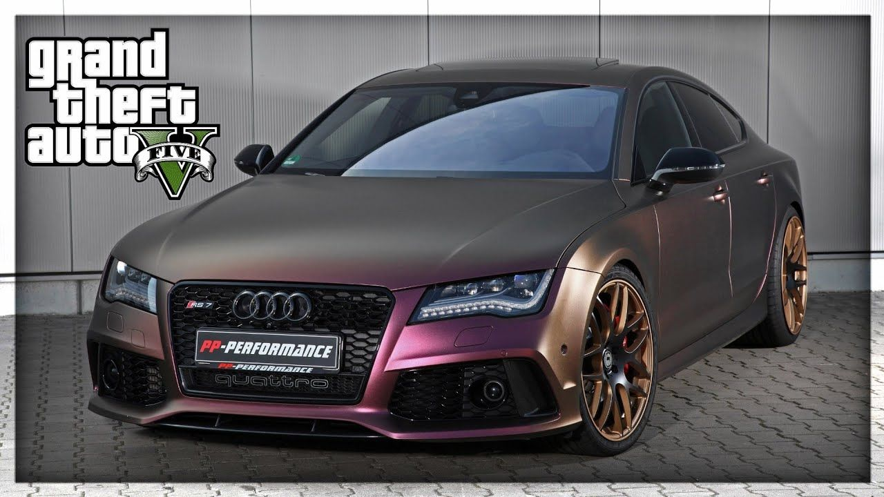 Gta 5 Audi Rs7 Sportback Gameplay 2019 Gta 5 Audi Rs7