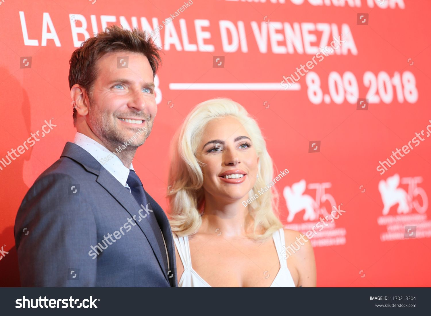 Bradley Cooper and Lady Gaga attend 'A Star Is Born' photocall during the  75th Venice Film Festival at Sala Casino on A… | A star is born, Bradley  cooper, Lady gaga