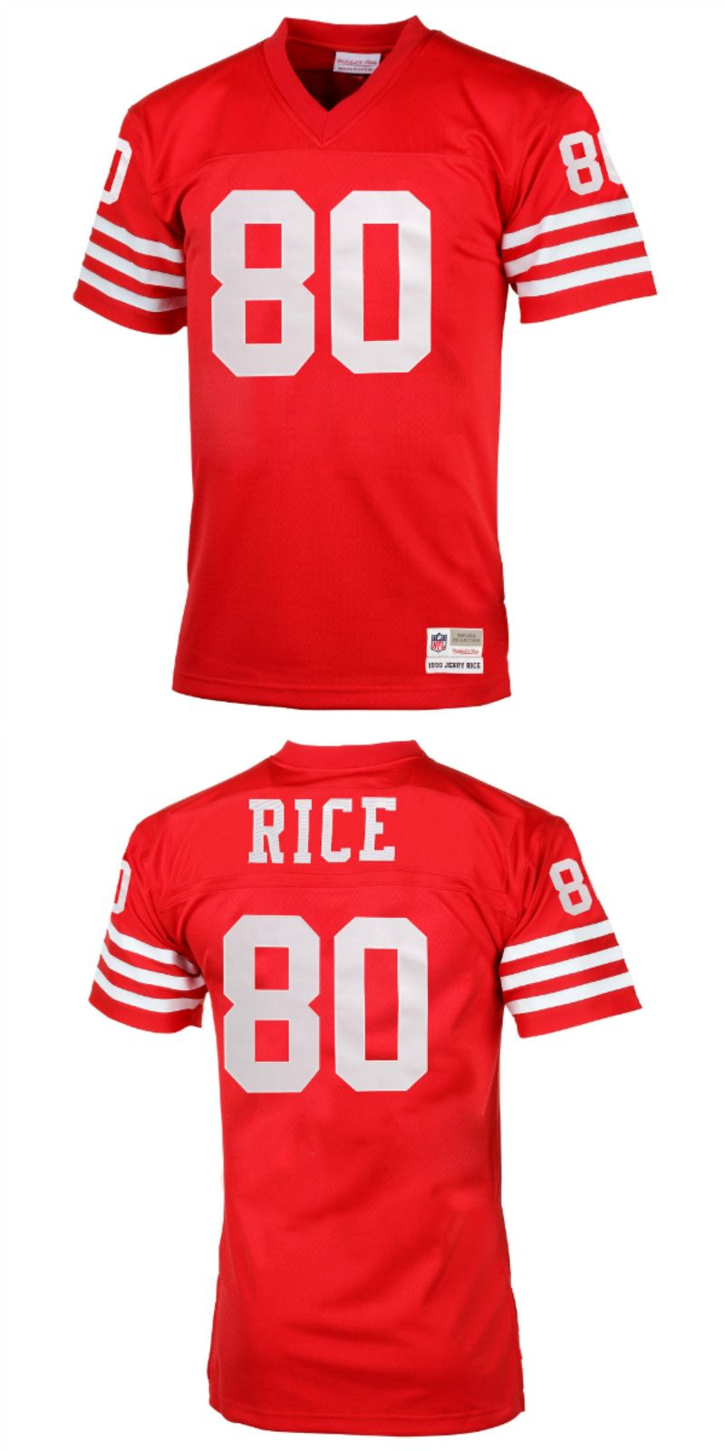 official photos 88594 095e1 UP TO 70% OFF. Jerry Rice San Francisco 49ers Mitchell ...