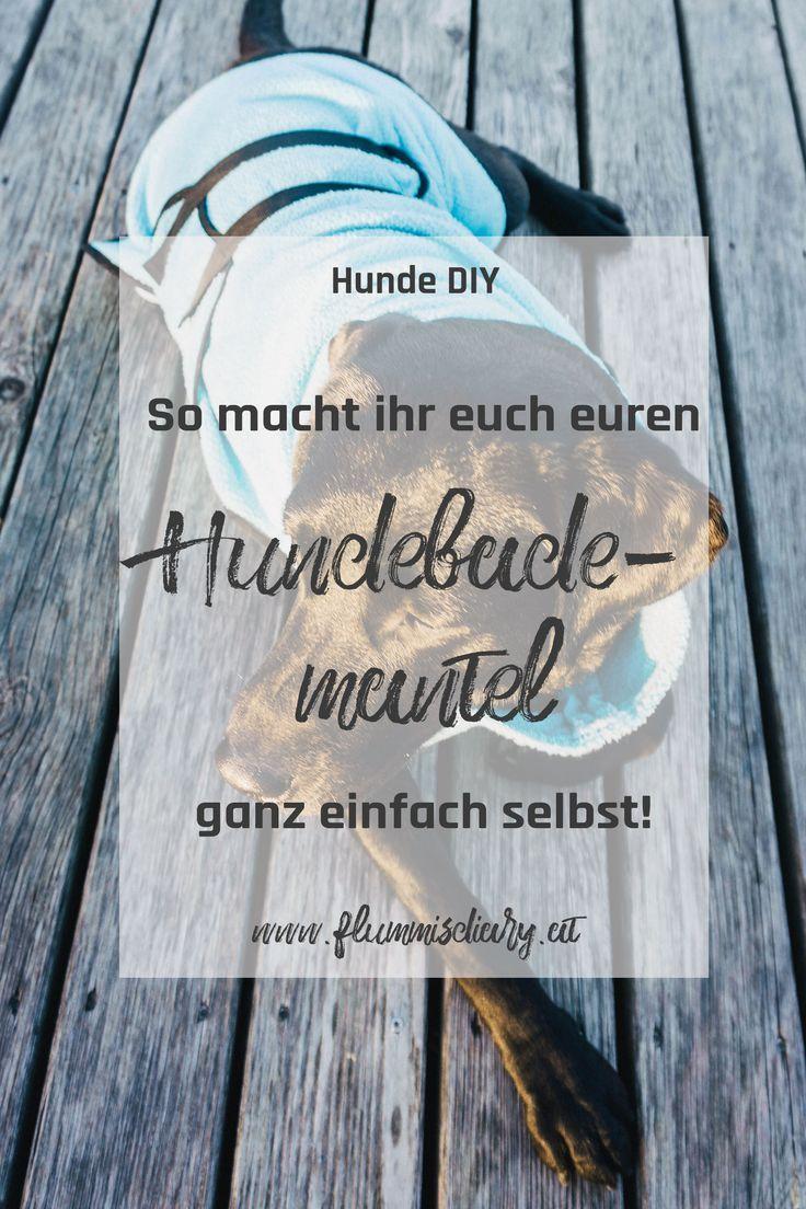 DIY Hundebademantel – Der Bademantel für euren Hund. Mit dieser Anleitung gelingt euch der DIY Hundebademantel bestimmt! #diy #hund #hundediy #hundeblog #hundeblogger #blog #diyblog #bademantel #hundebademantel