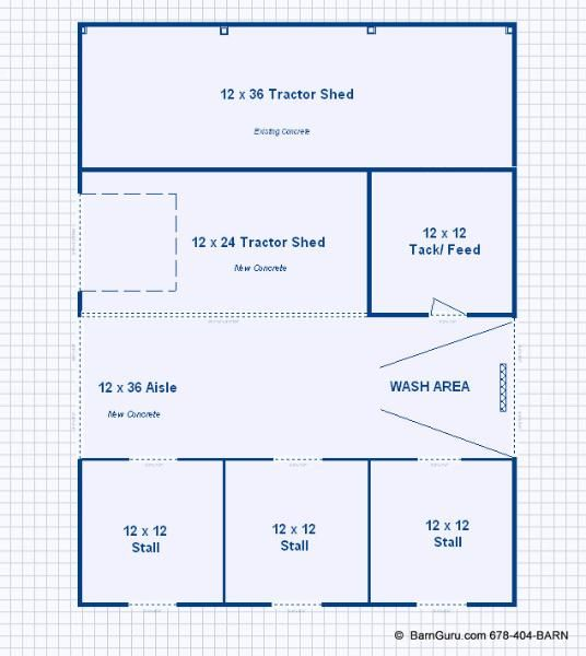 Horse barn layout any style any size from opulent to for Horse barn layouts floor plans