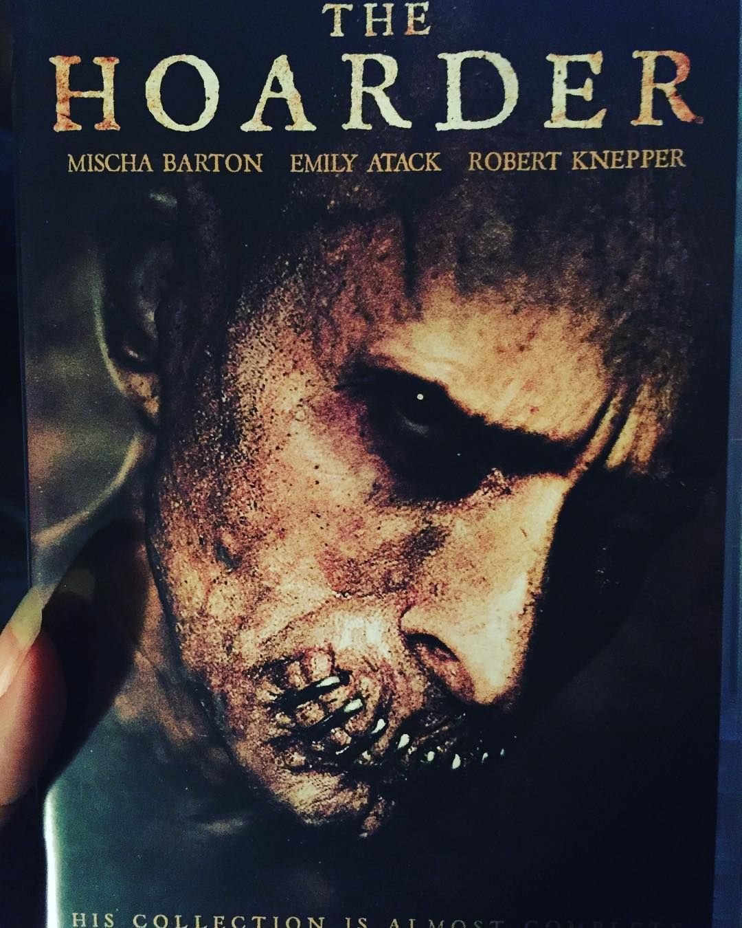 The Hoarder is a 2014 movie about terrifying secrets kept