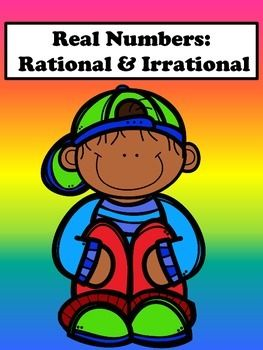 Rational and Irrational No Prep Lesson Real numbers