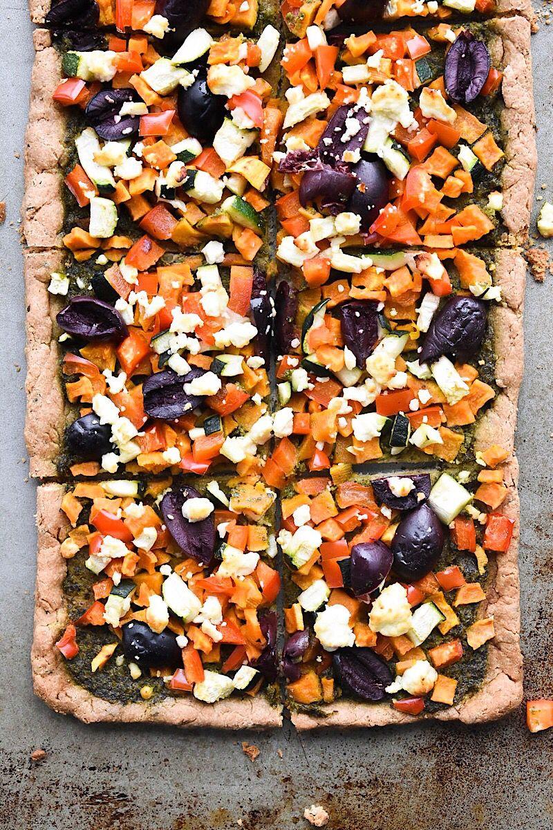 4ingredient pizza dough yeast free gluten free