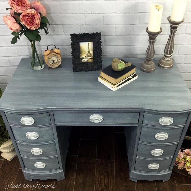 Vintage Desk Shabby Chic Makeover Decoraci 243 N Despacho